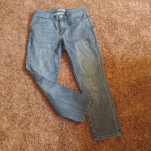 Lc Lauren Conrad skinny capri medium wash jeans